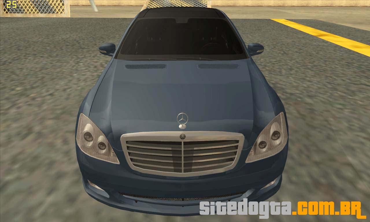 Mercedes benz s500 2006 para gta san andreas site do gta for Website mercedes benz