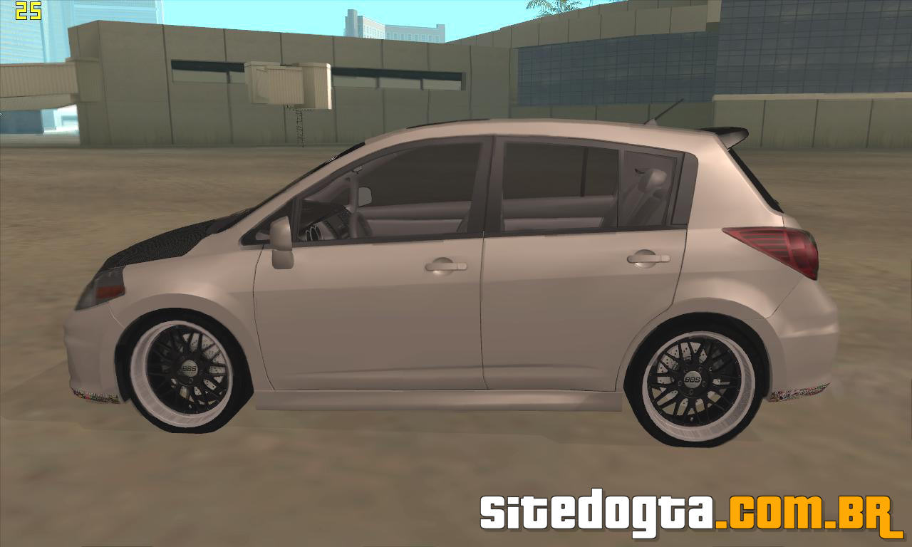 Nissan Versa 2009 Custom Para Gta San Andreas Site Do Gta