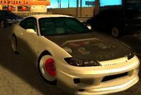 Nissan Silvia Pink Tuning