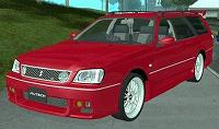 Nissan Stagea 25RS four S