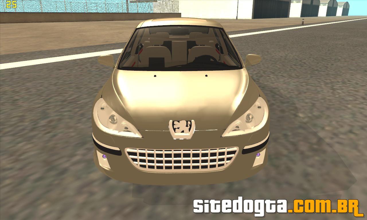 Peugeot 407 2009 para GTA San Andreas | Site do GTA