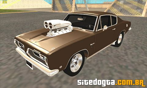 Plymouth Barracuda Prostreet 1968 para GTA San Andreas