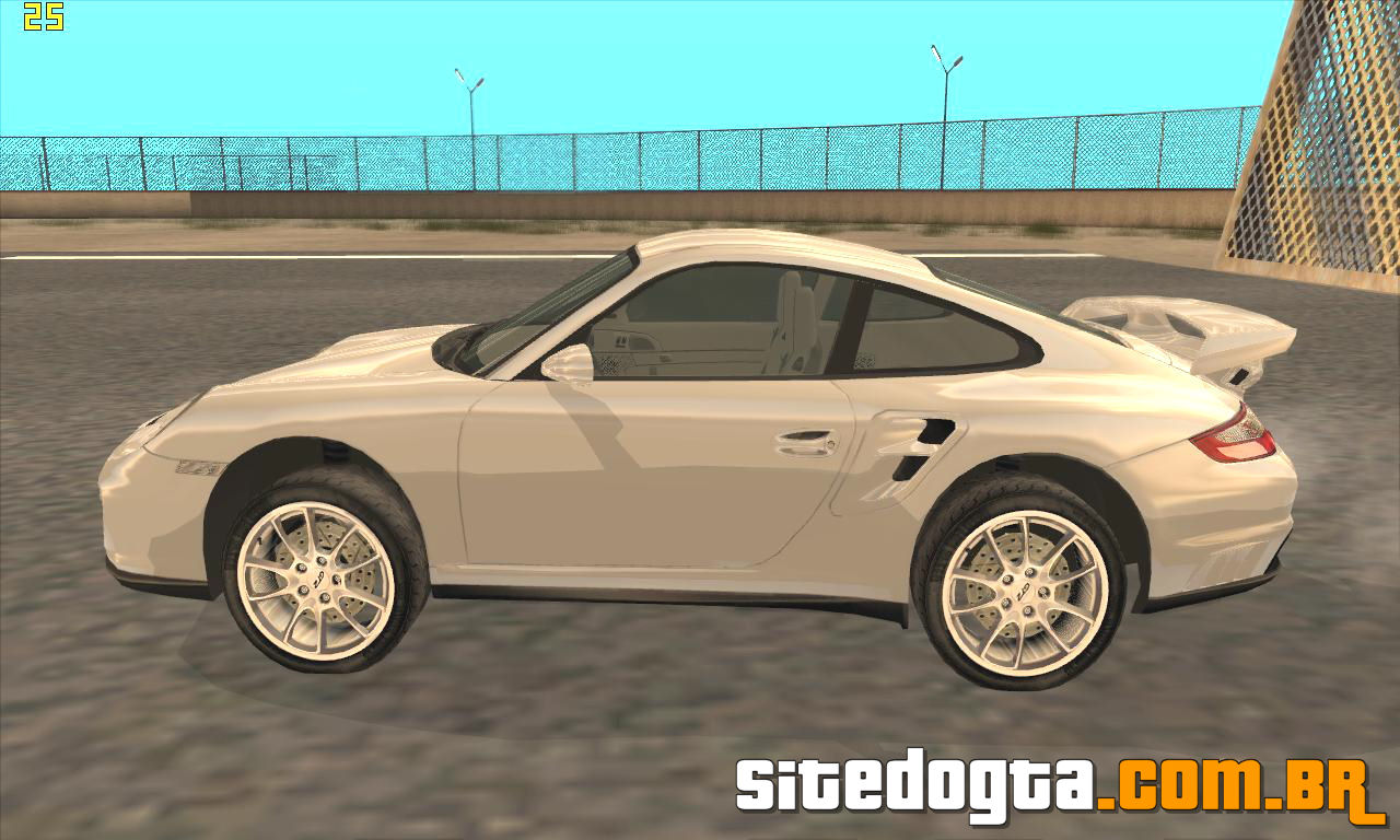 porsche 911 997 gt2 para gta san andreas site do gta. Black Bedroom Furniture Sets. Home Design Ideas