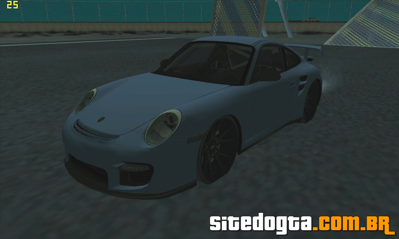 porsche 911 gt2 997 black edition para gta san andreas site do gta. Black Bedroom Furniture Sets. Home Design Ideas
