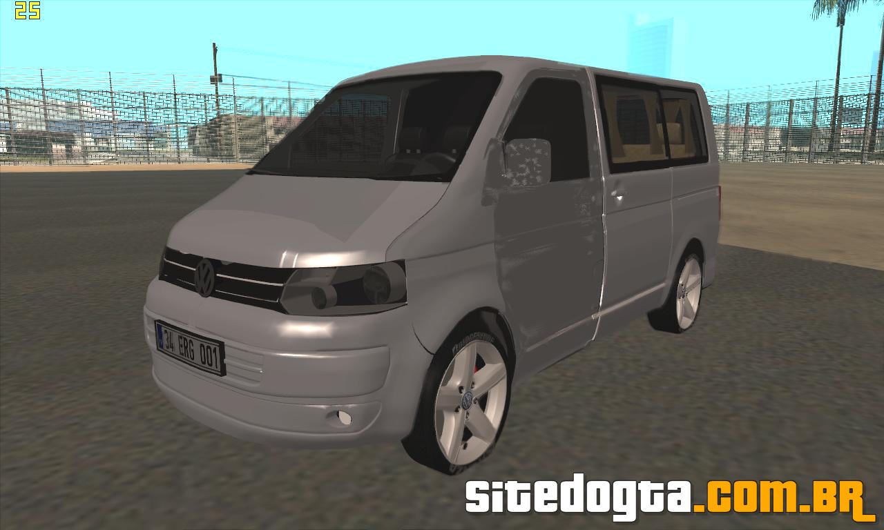 volkswagen caravelle swb 2011 para gta san andreas site do gta. Black Bedroom Furniture Sets. Home Design Ideas