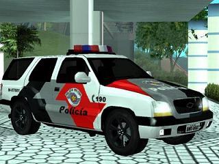 Chevrolet Blazer 2003 da PM de São Paulo