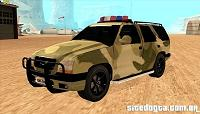 Chevrolet Blazer do Exército para GTA San Andreas