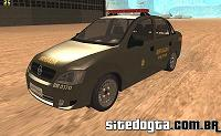 Chevrolet Corsa Sedan Premium da Brigada Militar do RS para GTA San Andreas