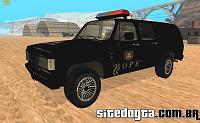 Chevrolet Veraneio do BOPE para GTA San Andreas