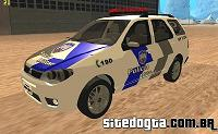 Fiat Palio Weekend do GAO da PMES para GTA San Andreas
