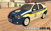 Fiat Siena da Guarda Civil Metropolitana de SP para GTA San Andreas