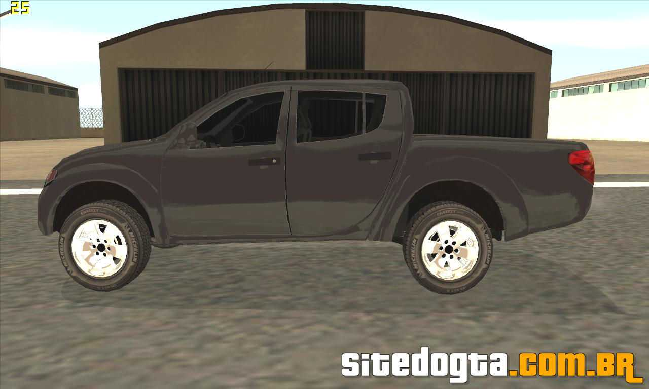 Mitsubishi L200 Triton Para Gta San Andreas Site Do Gta