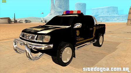 Nissan Frontier da Policia Federal