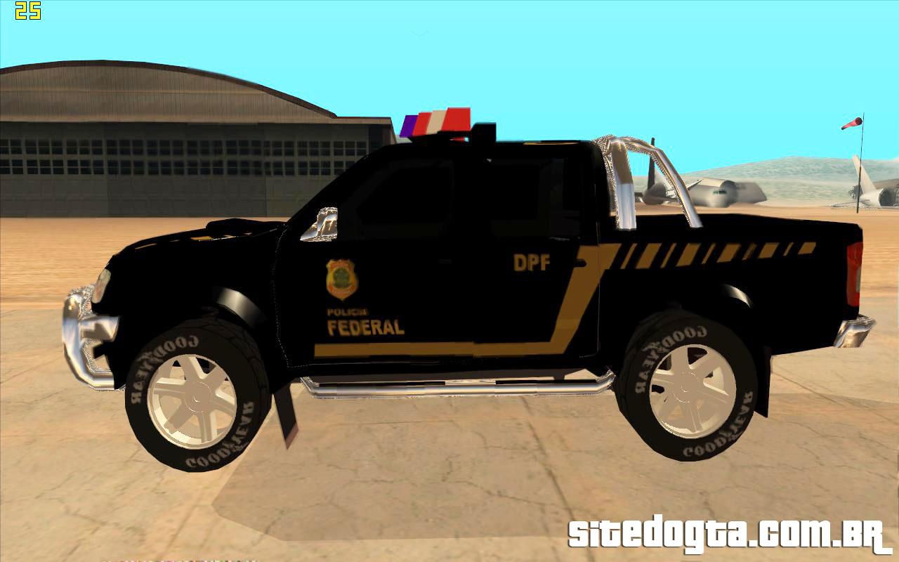 Nissan Frontier Da Policia Federal Para Gta San Andreas