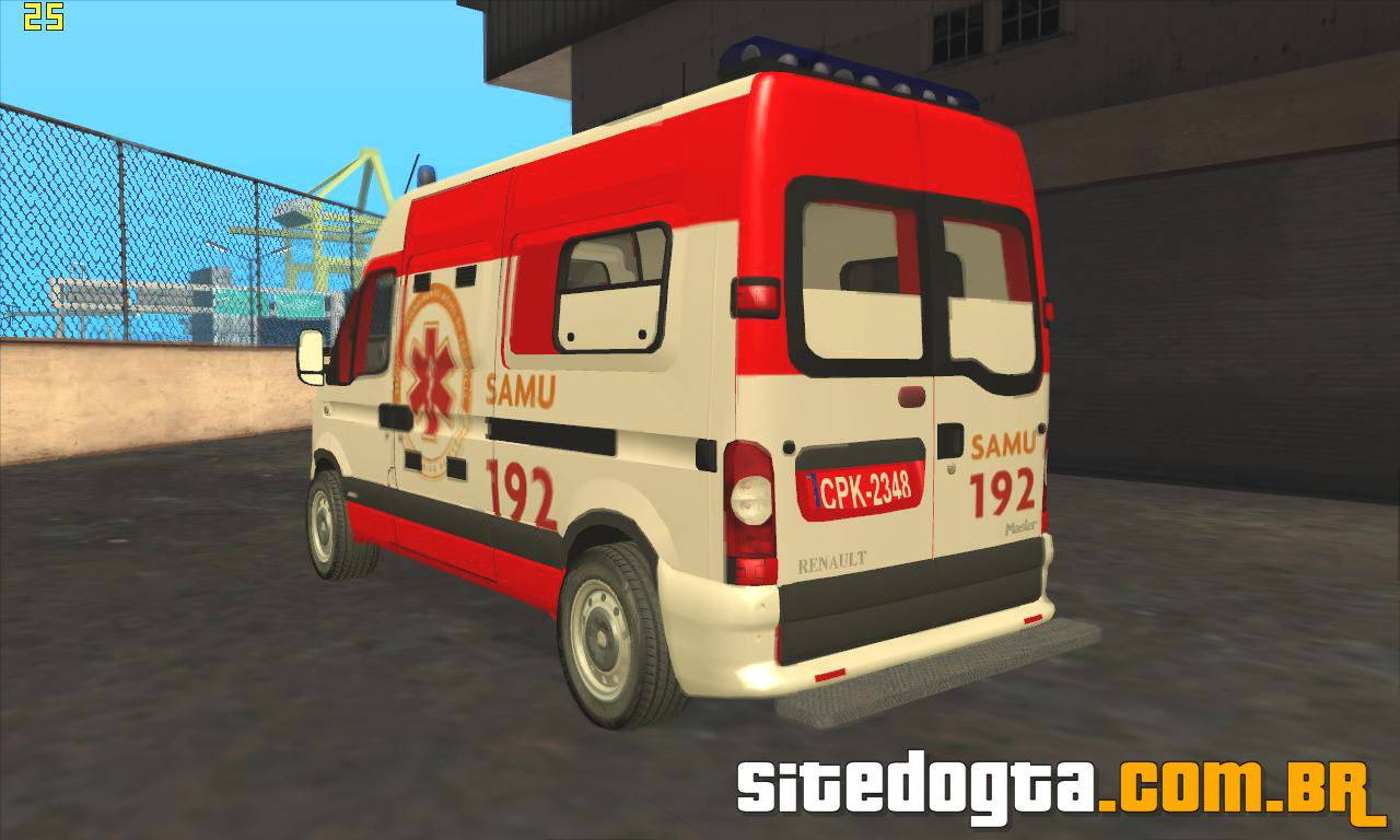 ANDREAS GTA BAIXAR PC SAN DO AMBULANCIA SAMU PARA