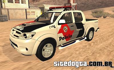 Toyota Hilux da PMESP