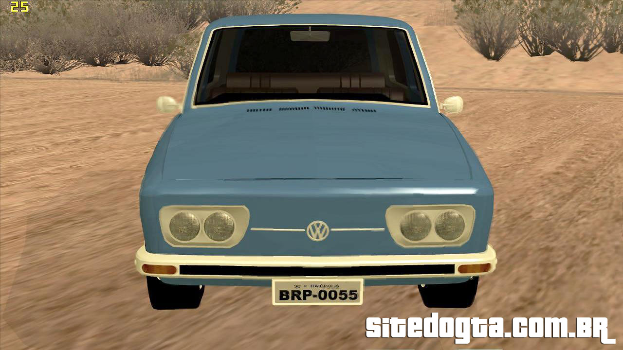 volkswagen variant 1600 1972 para gta san andreas site do gta. Black Bedroom Furniture Sets. Home Design Ideas