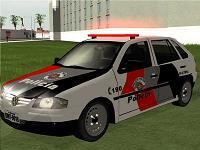 Volkswagen Gol G4 - Policia Civil