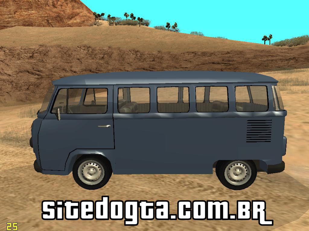 volkswagen kombi perua para gta san andreas site do gta. Black Bedroom Furniture Sets. Home Design Ideas