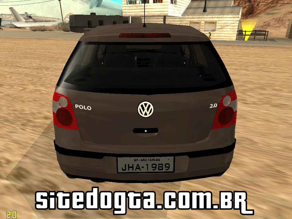 volkswagen polo 2 0 2005 para gta san andreas site do gta. Black Bedroom Furniture Sets. Home Design Ideas