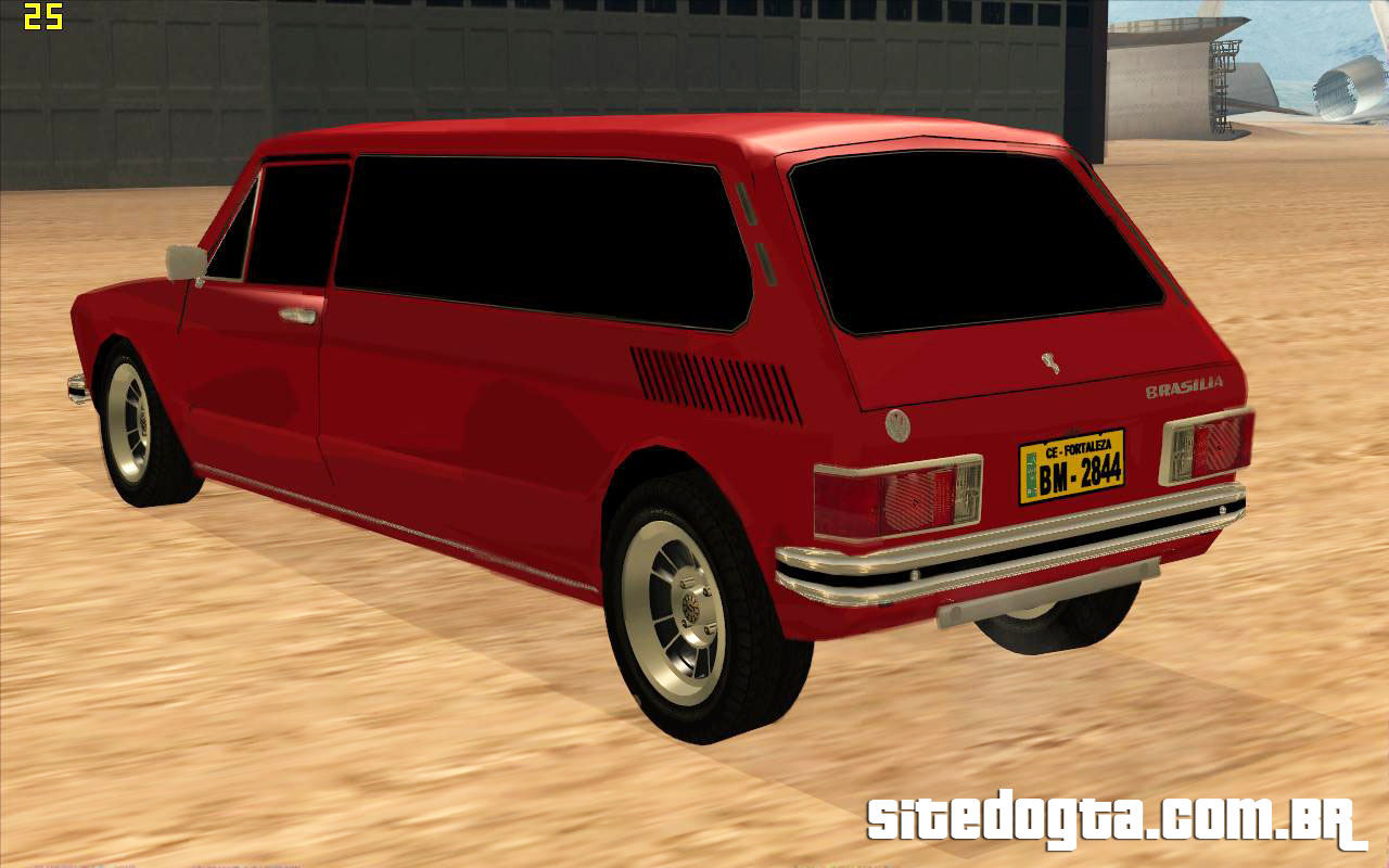 volkswagen brasilia limousine para gta san andreas site do gta. Black Bedroom Furniture Sets. Home Design Ideas