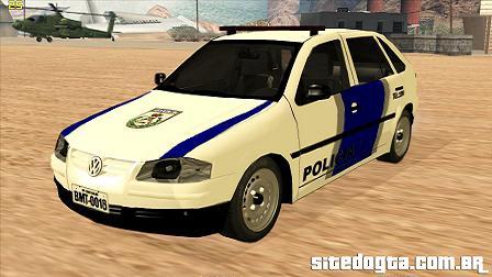 Volkswagen Gol G4 da PMRJ