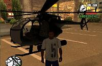 Helicóptero AH-6C Little Bird para GTA San Andreas