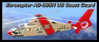 Helicóptero Eurocopter AS 365N Dauphin US Coast Guard para GTA San Andreas