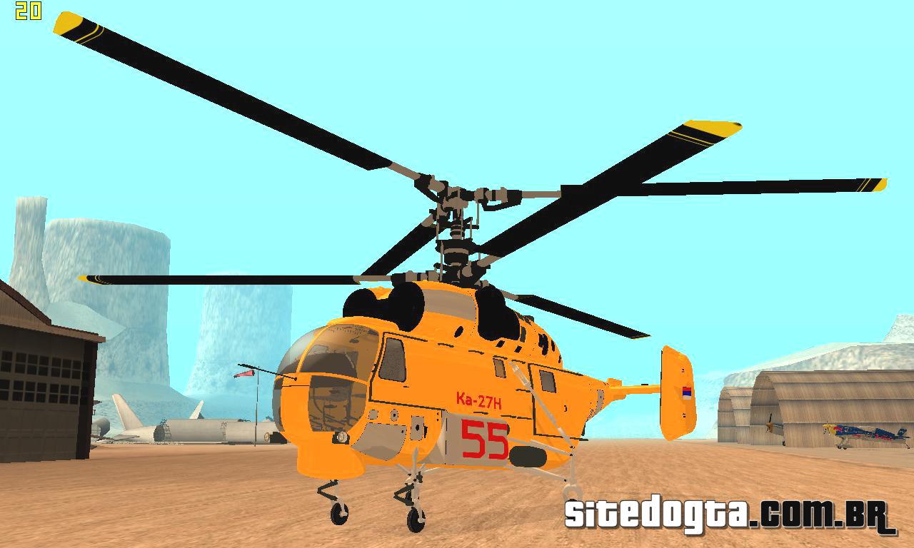 helicoptero kamov: