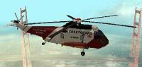 Helicóptero SH 3H Sea King para GTA San Andreas