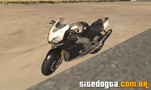 Aprilia RSV4 Black edition para GTA San Andreas