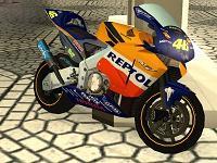 Moto do Valentino Rossi MotoGP -2002