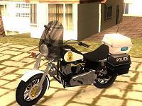 Harley Davidson Dyna Defender Police