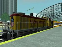 RS3 Union Pacific para GTA San Andreas