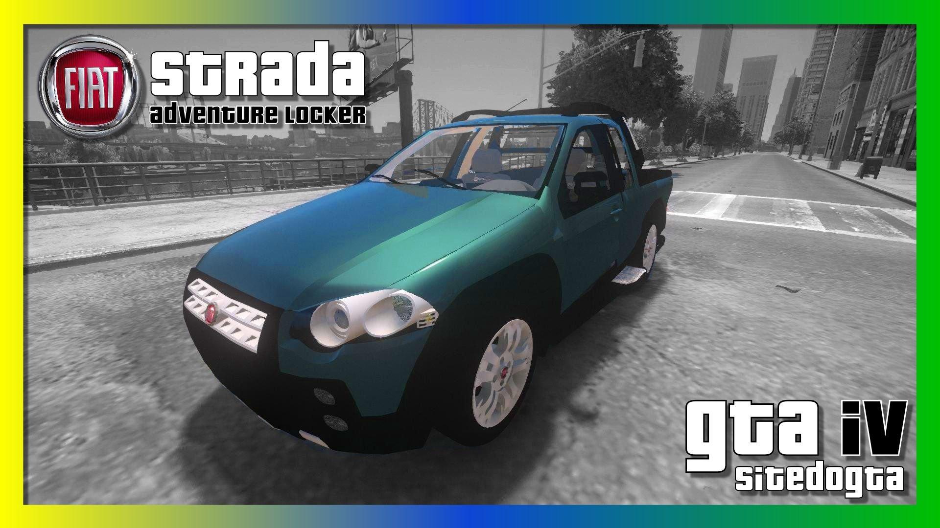 Carro Fiat Strada Adventure Locker Para Gta Iv