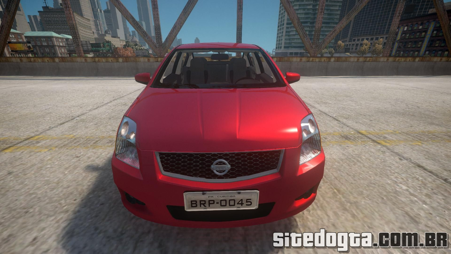 Carro Nissan Sentra S 2008 para GTA IV | Site do GTA