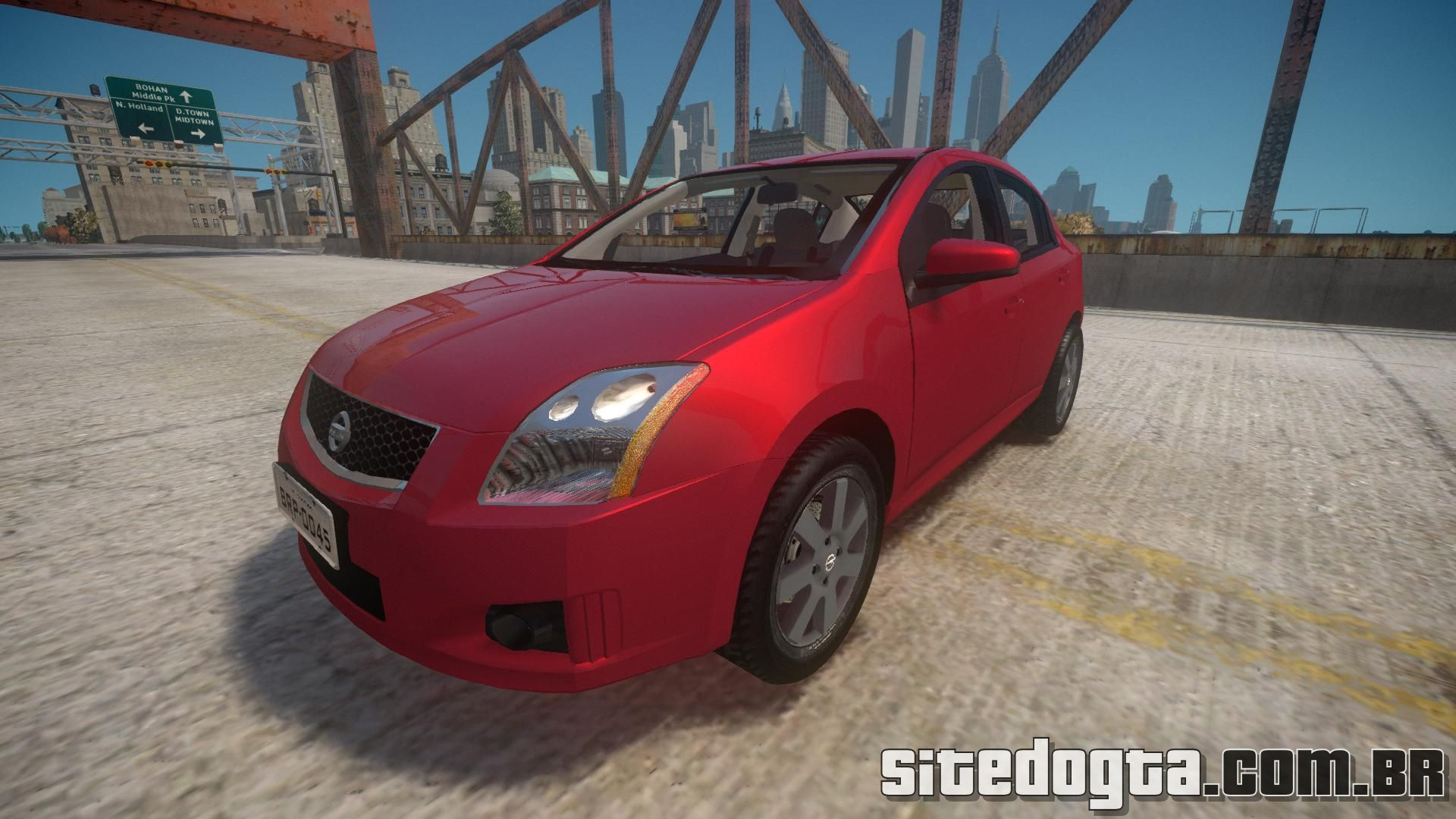 Carro Nissan Sentra S 2008 para GTA IV | Site do GTA
