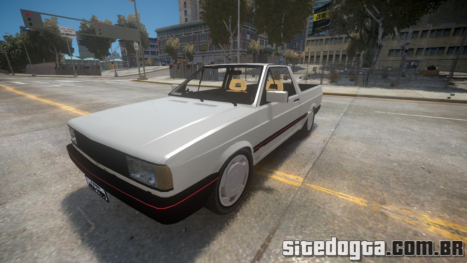 Carro brasileiro Volkswagen Saveiro 1990 Turbo para GTA IV | Site do GTA