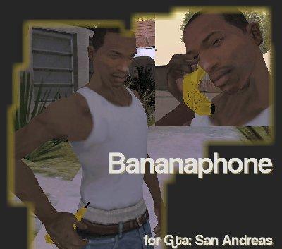 Bananafone para GTA San Andreas