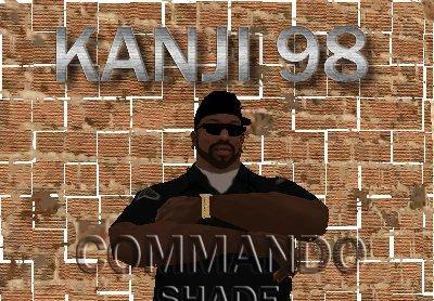 Óculos Commando para GTA San Andreas