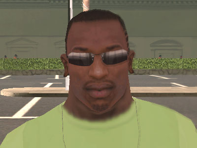 Óculos do agente Smith do Matrix para GTA San Andreas
