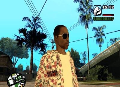 Óculos moderno para GTA San Andreas