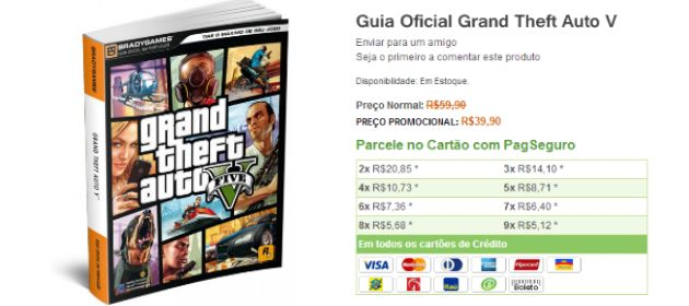 Guia Oficial do GTA V